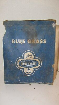 antique vintage blue grass belknap hardware garnet sand paper pack..original NOS