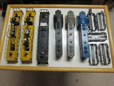 Large Lot of American Flyer 21234 C&O & 375 TP GP7 Diesel parts and shells NR