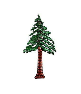 """CHRISTMAS TREE 1 1//8/"""" high x 1 1//8/"""" wide IRON ON PATCH APPLIQUE"""