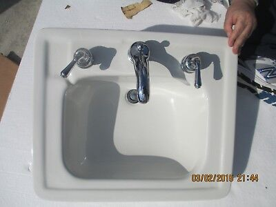Vintage Antique American Standard White Porcelain Bathroom Sink  We Ship!!!!!!!!