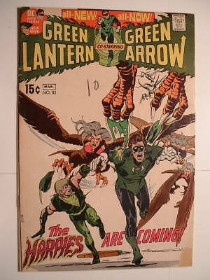 Green Lantern #82 - DC 1971 - Harpies!  And Neal Adams Art!
