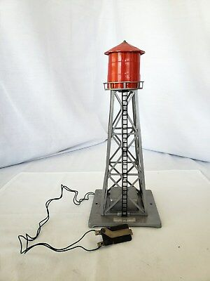 Vintage American Flyer The A.C. Gilbert Co bubbling water tower great condition