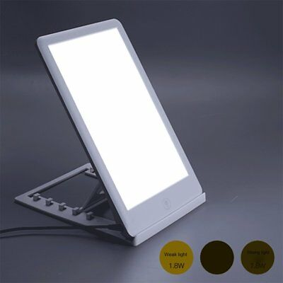 Bright Desktop 3 Modes Dimmable SAD Treatment Therapy Lamp Healing LED Light IH