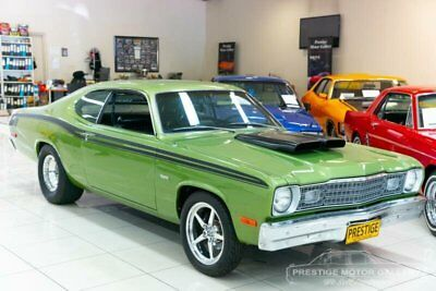 1973 Plymouth Duster Green Automatic A Coupe