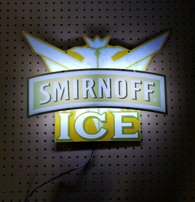 Rare Smirnoff Ice LED lighted sign display