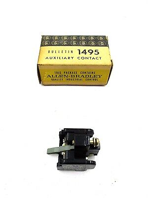 New Allen Bradley 1495-F1 Series L Auxiliary Contact Block