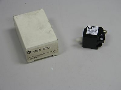 New Allen Bradley 1495-G1 Ser L Auxiliary Contact 1495G1