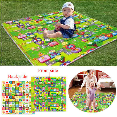Child Infant Baby Kids Crawling Game Waterproof Floor Play Mat
