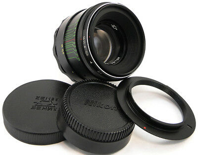 *NEW* ⭐INFINITY Adapted⭐ HELIOS 44-2 58mm f/2 Lens Nikon F Mount Df D500 D750 D5