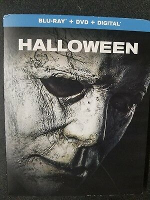 Halloween 2018 (Blu-ray + DVD + Digital; 2018) NEW with Slipcover