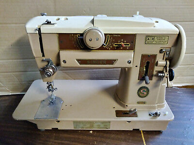 Vintage Singer 401A Sewing Machine for Parts or Repair