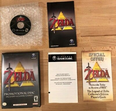 THE LEGEND OF ZELDA COLLECTOR'S EDITION (GAMECUBE) COMPLETE Mint Disc! Free Ship