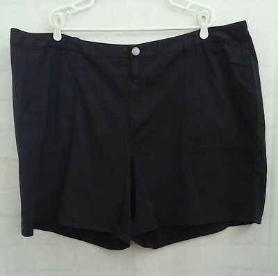 Lane Bryant Women's Dark Navy Blue Shorts Size 28