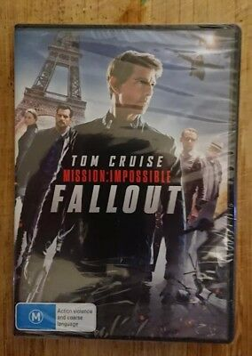 Mission Impossible DVD R4 New & Sealed 2018