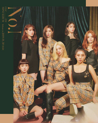 CLC [NO.1] 8th Mini Album CD+Foto Buch+Mini Poster(On Pack)+Foto Karte SEALED