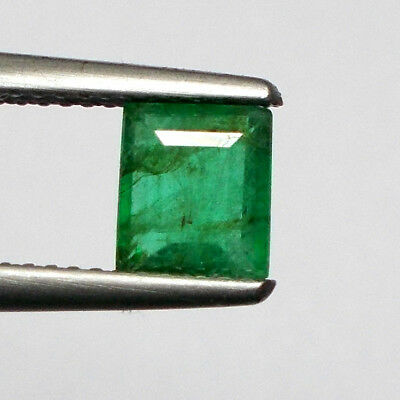 1.03ct Natural Emerald octagon cut Top Green Good luster Unheated Untreated Gem