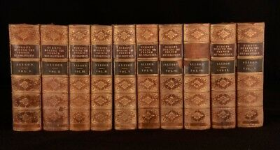 1844 10vols History of Europe from French Revolution to Restoration of Bourbons