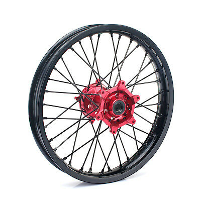 "18"" Honda CRF250R 2014-2017 CRF450R 2013-2016 36 Spokes Rear Wheel Rim Hub Set"
