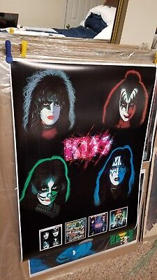 Kiss European Best Of The Solo Albums 24X36  Mint Condition Custom Print Poster