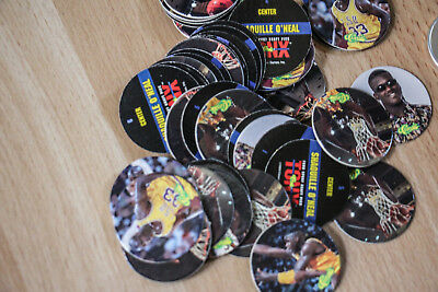 SHAQ TACO BELL POG SET of 13 POGS RARE unplayed with