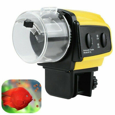 Digital Automatic Electrical Feeder with Timer for Home Fish Tank Food Feeding