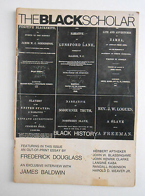 The Black Scholar Journal Of Black Studies and Research 1973 December
