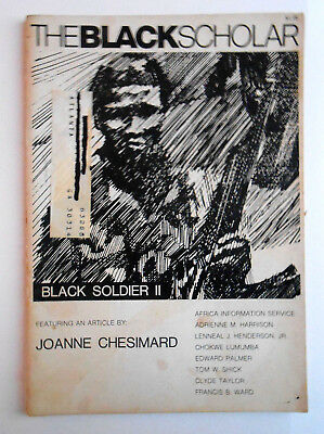 The Black Scholar Journal Of Black Studies and Research 1973 October