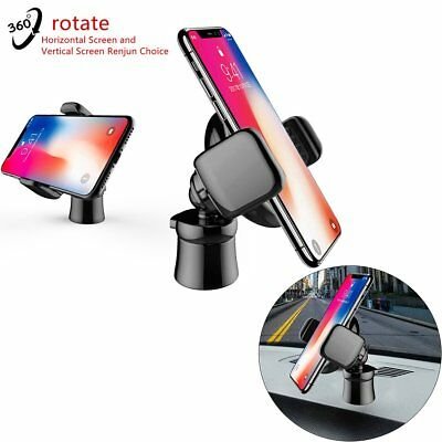 360° Rotating Universal Mobile Phone Car Mount Holder Cradle Stand