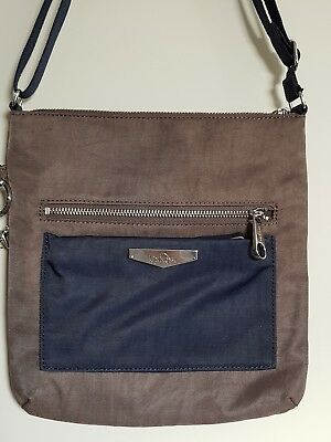Kipling Kotral KC Small Shoulder Bag with Crossbody Strap, City Brown, BNWT 07d551a5e9