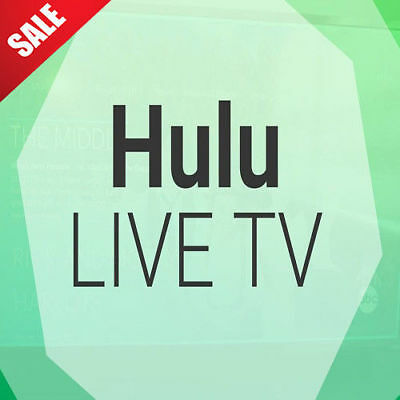 Hulu  Live TV Account subscription | 12 Months Warranty | Fast Delivery
