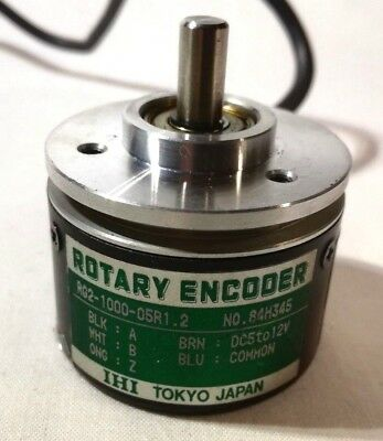 IHI Optical Rotary Encoder RG2-1000-05 2000 transitions per turn