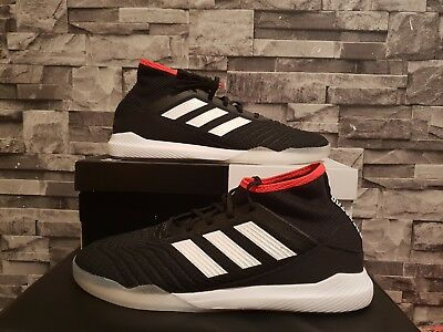 Adidas Predator Tango 18.3 IK SIZE 10.5 Trainers Black White Red trim CP9297 3390a0d6f