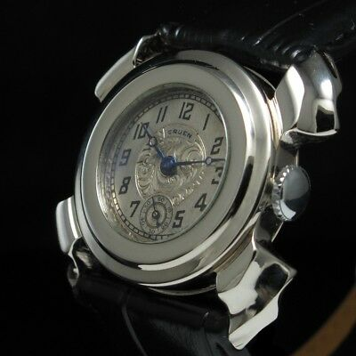 GRUEN Vintage Mens Wrist Watch Mechanical Steel Manual American Women's Watches