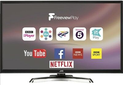 "JVC LT-32C780 32"" Inch SMART LED 1080p TV Freeview HD WiFi USB Record & HDMI"