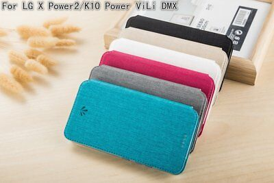 ViLi DMX Faux Leather Case Cover with Card-Slot for LG X Power2 / X500 / M320G