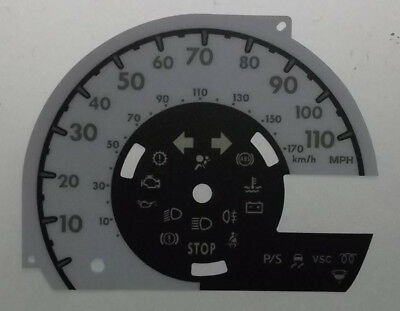 Citroen C1 Conversion Dial Into MPH