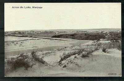 Postcard  : Montrose Angus a view across the Links