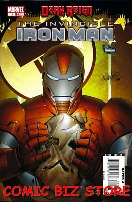 Invincible Iron Man #19 (2009) 1St Printing Bagged & Boarded Marvel