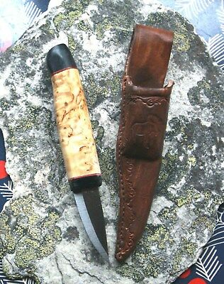 Jagd-, Camping-, Outdoormesser, Neck-Knife    Handarbeit  NORWAY