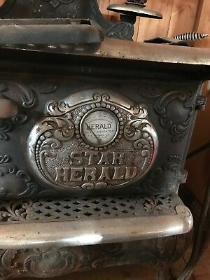 Two Antique Wood Burning Cook Stove Ornate / Take Them Both for One Money