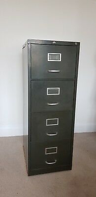 Vintage Sankey Sheldon Large 4 Drawer Filing Cabinet