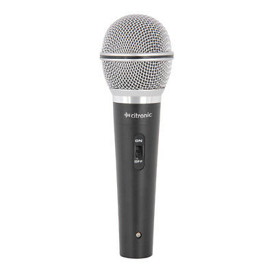 Citronic DMC03 Dynamic Vocal Microphone inc Lead & Case DJ PA Karaoke