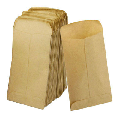 100Pcs Wedding Kraft Paper Favor Vintage Gift Candy Bag Party Supplies