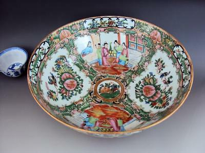 Beautiful Chinese Porcelain  Oriental Antiques Famille Rose Bowl