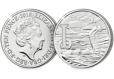NEW A-Z 2018 ALPHABET 10p Great British  COIN HUNT LETTER L Loch Ness