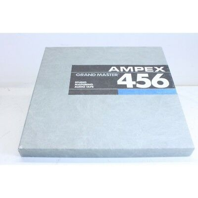 NOS Ampex 456 1/2'' tape - 2500ft (No.2) Never used still sealed in plastic