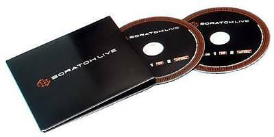 Official Serato Scratch Live Control CDs