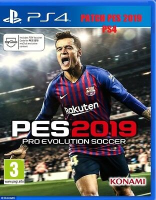 Patch Pes 2019 X Ps4 Con Serie B & Bundesliga Option File 100% Garantita