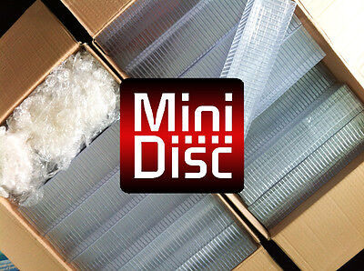 100x empty MiniDisc cases - MD DATA - Mini Disk box (in compact disc style) E