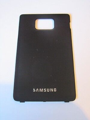 Samsung Galaxy S2 SII I9100 black battery cover